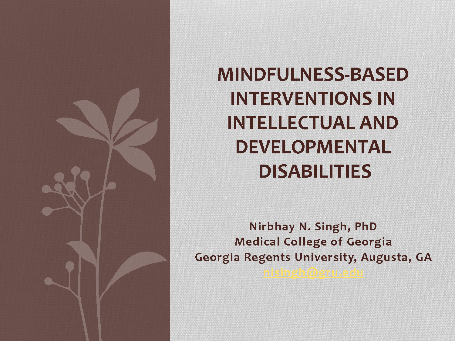 Pages from SY23.2 MINDFULNESS-BASED INTERVENTIONS IN INTELLECTUAL AND DEVELOPMENTAL DISABILITIES_Singh